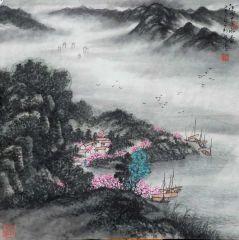刘振江作品江南春如画