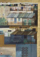 翟建群作品美好家园系列之蓝城印象三