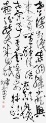 杨金国作品草书高适诗