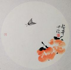 田波作品草虫系列作品