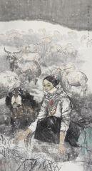 闵文婧作品和谐雪域
