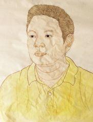 黄麒霏作品肖像