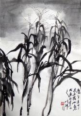 陈辉作品高歌的玉米