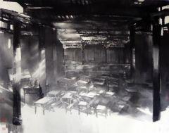 优乐娱乐官网作品古田会议旧址(参加庆祝建党95周年展(国家博物馆))