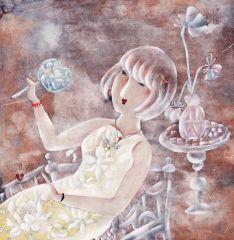 曹娜作品清香系列