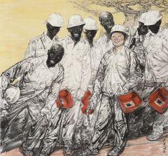 郭山泽作品中国师傅和她的徒弟们