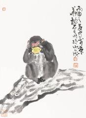 马硕山作品猴