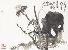 马硕山作品紫鸢