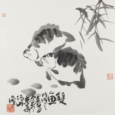 马硕山作品双鱼