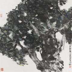 马硕山作品栗树