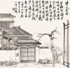 周逢俊作品日本山清水寺