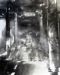 陈辉作品太和殿朝日